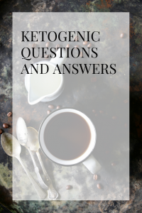 ketogenic questions and answers