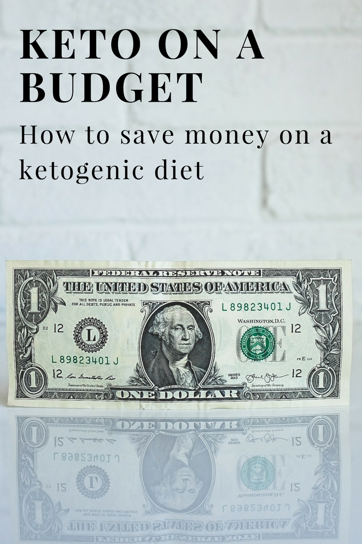 Learn how to do keto on a budget! So many people think eating keto is expensive, but that just isn't the case. You can definitely eat keto on a budget!