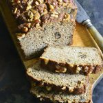 This Easy Low Carb Zucchini Bread Recipe is the perfect treat when you want a baked good while keeping your carbs down. #keto #lowcarb