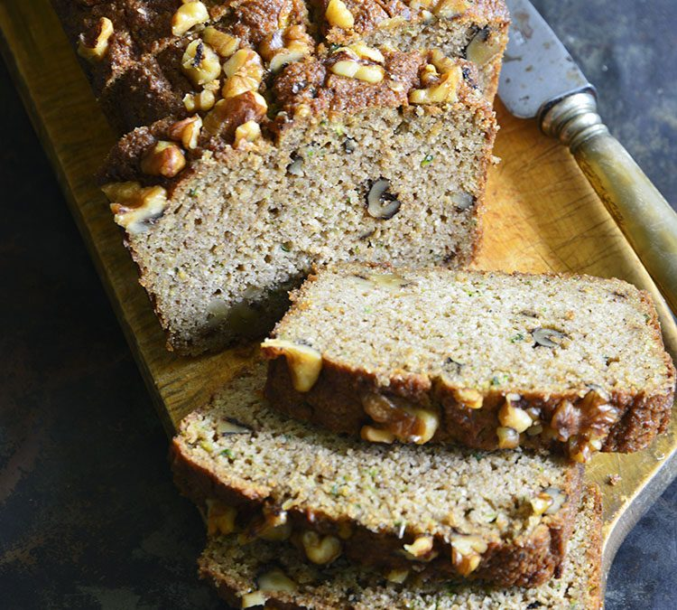 Easy Low Carb Zucchini Bread
