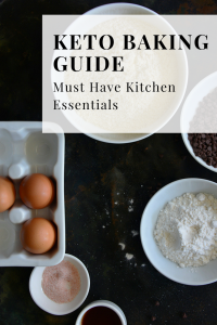 Keto baking guide must have kitchen essentials
