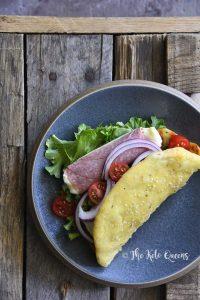 Keto Soft Wrap-Style Flatbread Stuffed with Sandwich Fillings