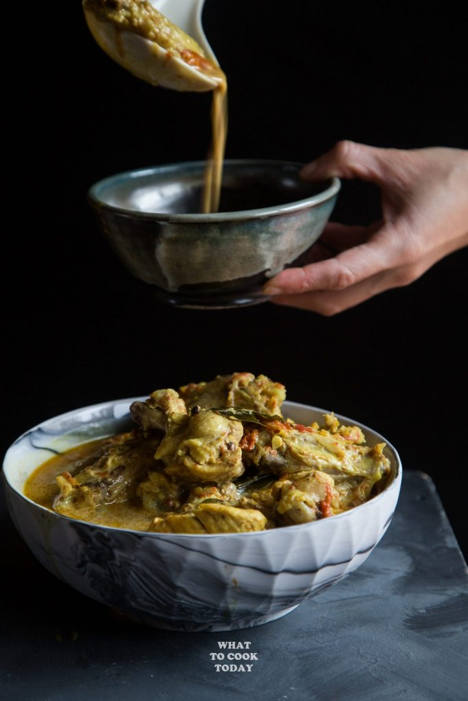 Indonesian Curry Chicken (Kari Ayam)