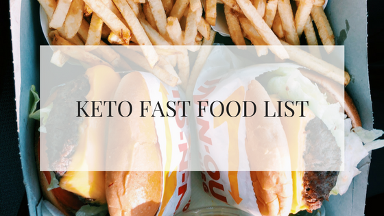 This keto fast food list is a great start for those just starting a keto diet and currently consume fast food frequently. This list will give you a bunch of keto fast food breakfast ideas, keto fast food lunch ideas and keto fast food dinner ideas.
