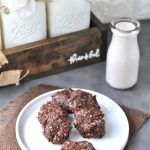 keto no bake cookies from peace love and low carb