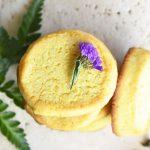 Keto Orange Shortbread Cookies Featured Image From Healthy Sweet Eats
