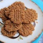 keto peanut butter cookies from kasey trenum