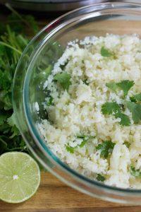 Instant pot chipotle cauliflower rice