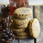 keto molasses ginger cookies from healthy sweet eats