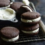 low carb whoopie pies with cheesecake buttercream from healthy sweet eats