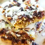 Seven Layer Magic Cookie Bars From Eat Beautiful