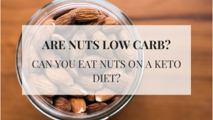 """Can you eat nuts on a keto diet? I get asked this question all the time. My answer is always the same, """"it depends."""" Most nuts are low in carbohydrates and high in fat, but some nuts are higher in protein and higher in carbohydrates and those are the ones that may want to be avoided or consumed in smaller amounts."""
