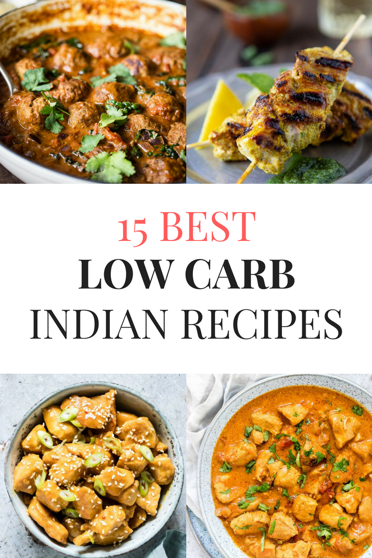 The Best Low Carb Indian Food Recipes. Try these Low Carb Indian Food Recipes to give a bit of flare to your keto diet. They will not disappoint! #lowcarb #lowcarbrecipes #keto #ketorecipes #ketogenic #indianfood #indianfoodrecipes #indianrecipes