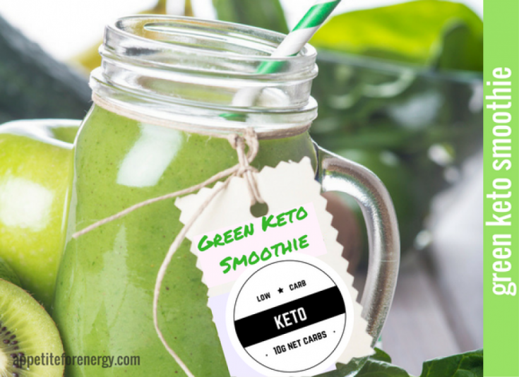 This is a wonderfully refreshing green keto smoothie for weight loss will power up fat burning.