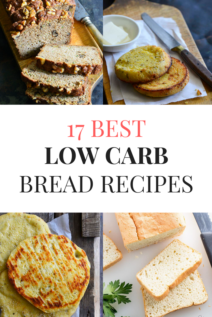 17 low carb bread recipes you need to try this year! These keto bread recipes are just what you need to make your keto diet complete. #keto #ketorecipes #lowcarb #lowcarbrecipes #ketobread #lowcarbbread