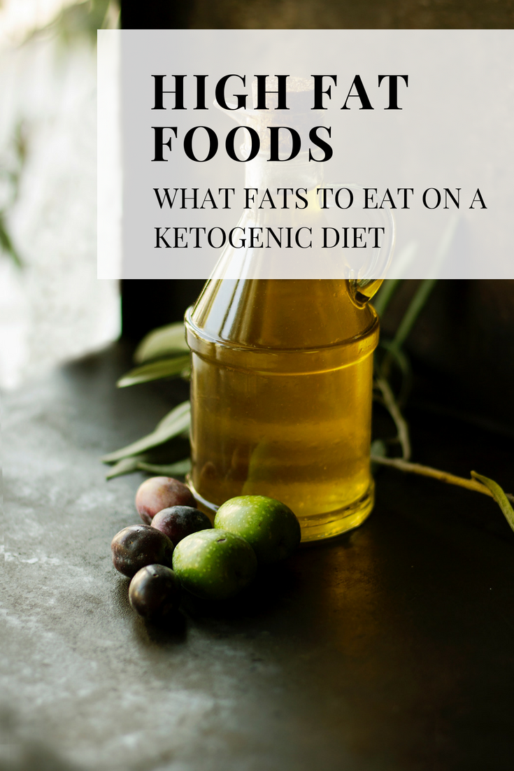 High Fat Foods for #Keto - The fatty details you need to know. What are good fats for a #ketogenic diet? What fats can I eat on keto? What fats are good for ketosis? Is saturated fat good for you? What are healthy fats for keto?