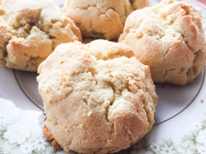 Easy almond flour biscuits