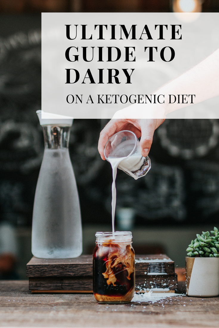 Dairy Products, can you have them on a keto diet? Well, that depends. It truly is something that is specific to eat individual. #dairy #keto #ketodiet #lowcarb #lowcarbdiet