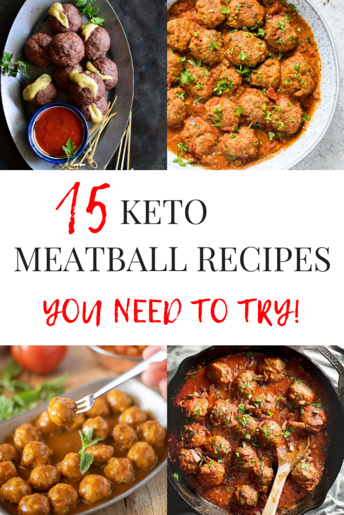 Meatball recipes are the perfect easy keto recipe! You can make a large batch of homemade meatballs, and freeze a bunch to use later in the week/month.