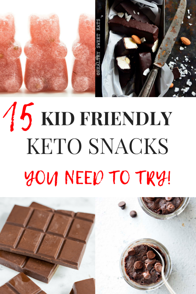 15 Keto Snacks that are kid friendly and adults will love as well.