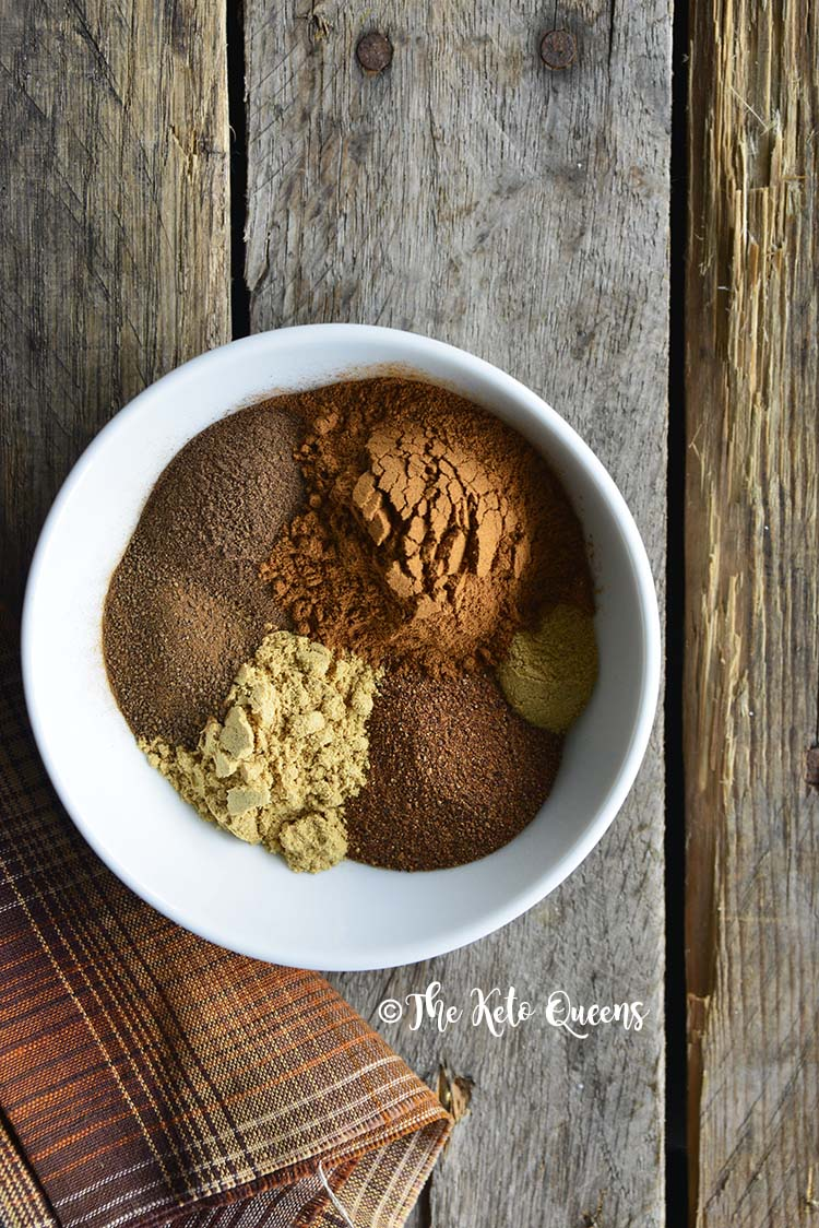 Spices in Pumpkin Spice Mix