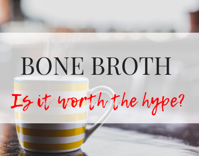 Bone broth is all the craze right now...but does it live up to it's hype? Let's take a deep dive into what bone broth is and the potential benefits of bone broth.