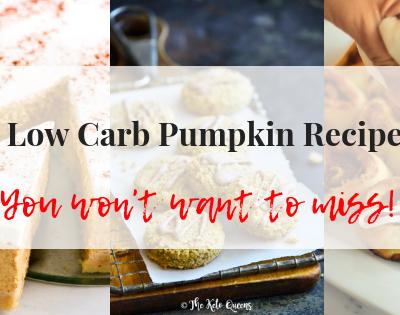 7 low carb pumpkin recipes