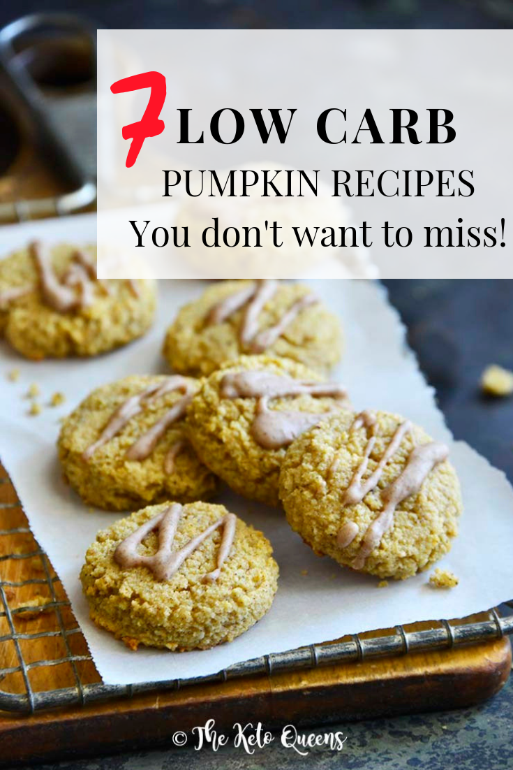 Low Carb Pumpkin Recipes You Need to Try! When you think pumpkin, do you think the pumpkin patch or pumpkin carving ideas? Not me! #keto #ketorecipes #lowcarb #lowcarbrecipes #pumpkin #pumpkinrecipes