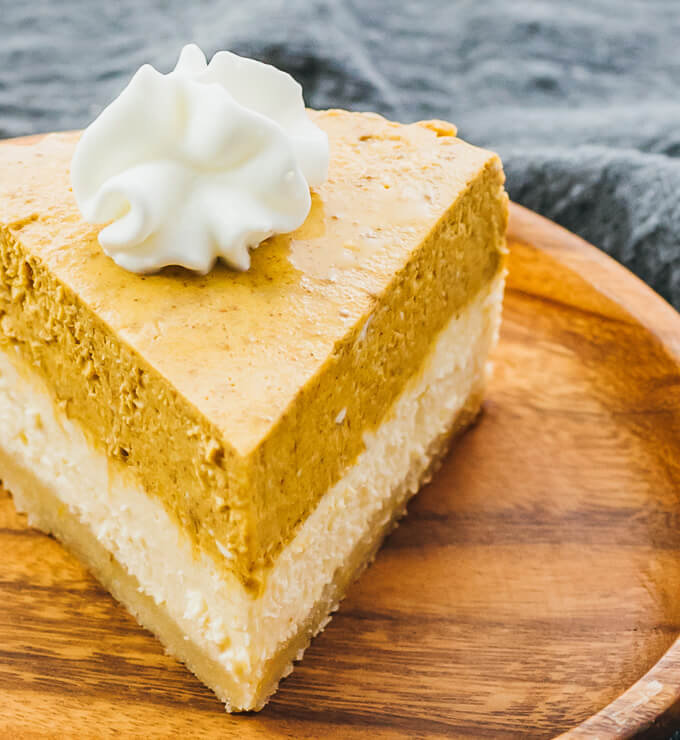 Instant Pot Pumpkin Cheesecake with Almond Crust