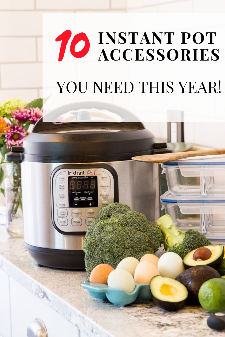 10 MUST HAVE Instant Pot Accessories. Today is the day most of us wait to buy all of our Christmas gifts (some birthday gifts too!). #InstantPot #blackfriday #blackfriday2018