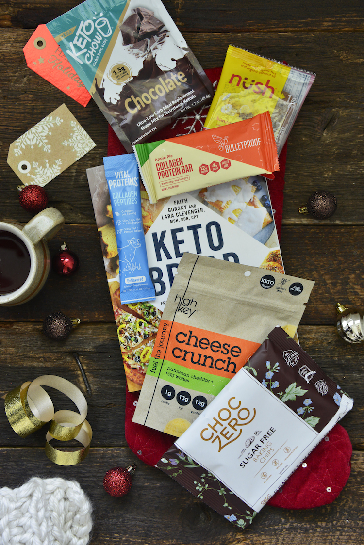 #AD When I was growing up, my stockings were always full of chocolate and other candies. Not this year. Today we're going to go over our favorite stocking stuffers for women and men who follow a #keto diet.