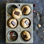 Almond Butter Cookies - Chocolate Kiss Cookies