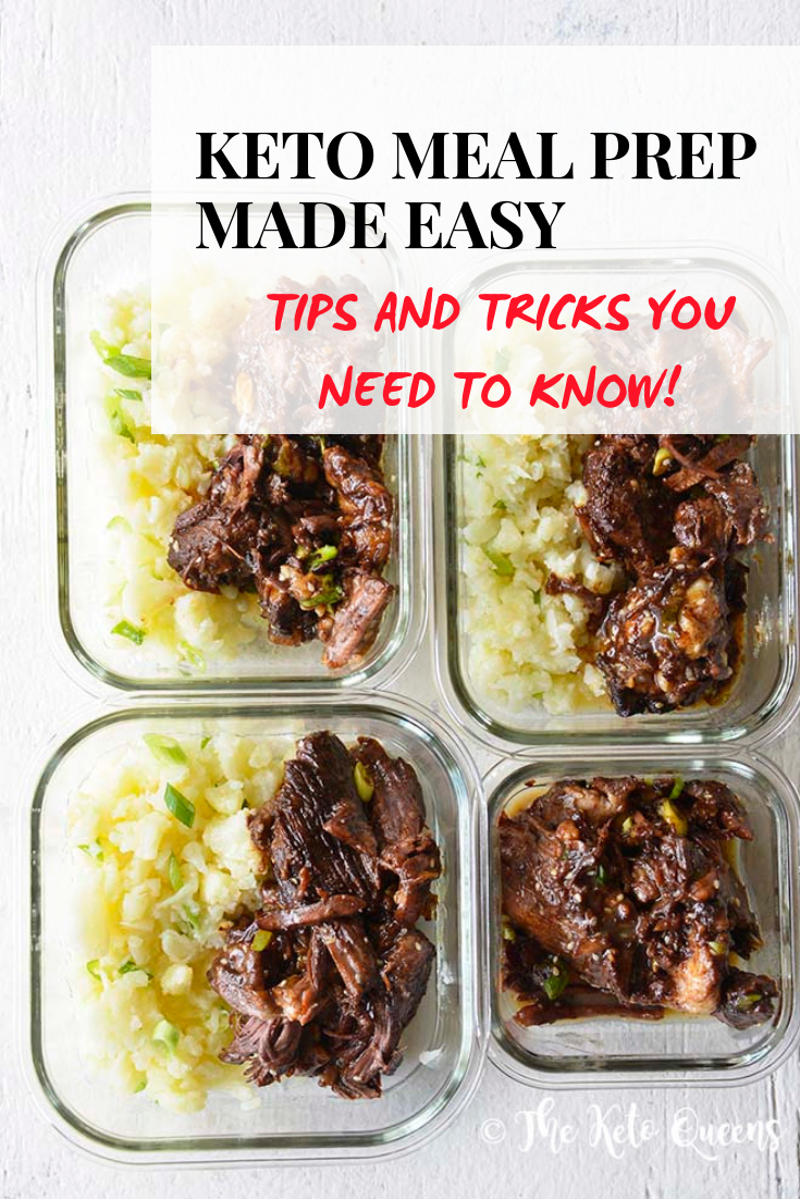 If you ask any of my friends, they will tell you I am the Queen of meal prepping! Today I'm sharing all of my keto meal prep tips and tricks! #keto #ketomealprep #mealprep #lowcarb