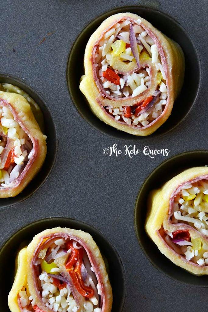 Salami and Cheese Pinwheel Recipes