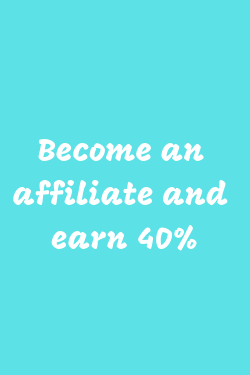 Become an affiliate and earn 40% text