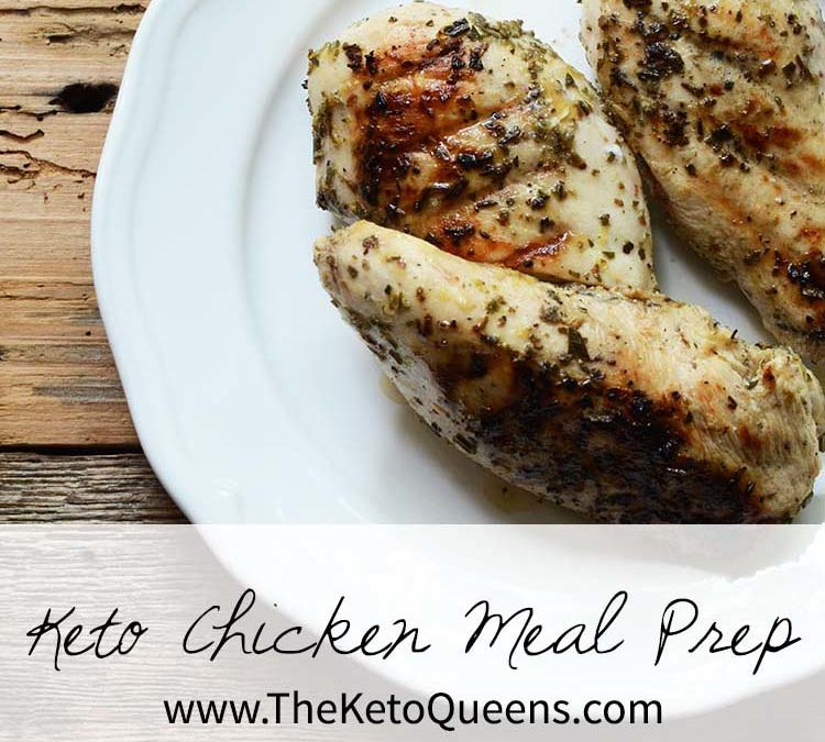 Keto Chicken Meal Prep