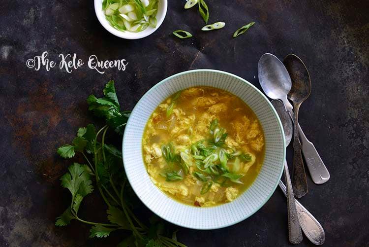 The Best Keto Egg Drop Soup Recipe!