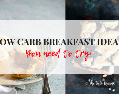 feature image low carb breakfast ideas