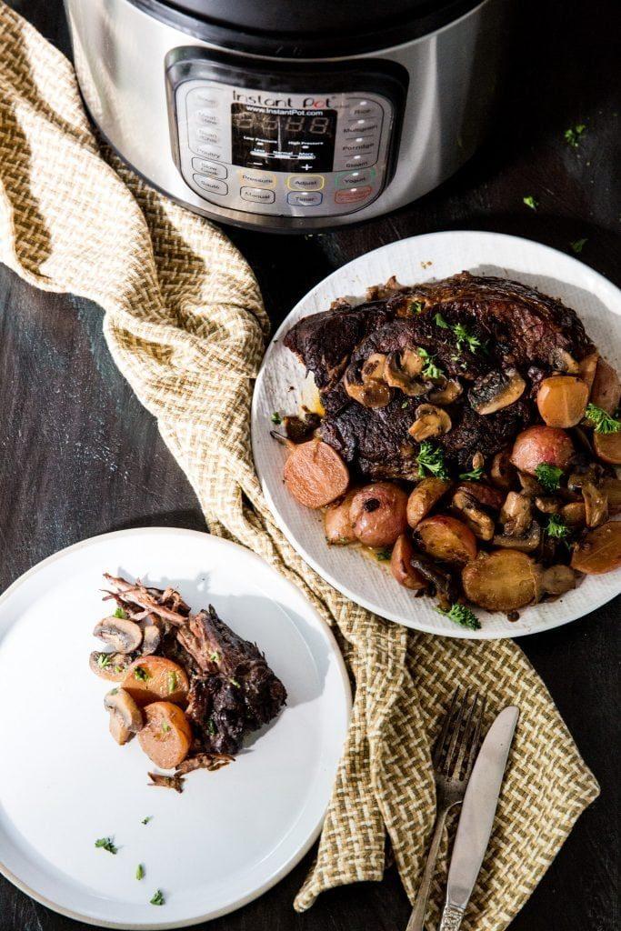low carb instant pot pot roast