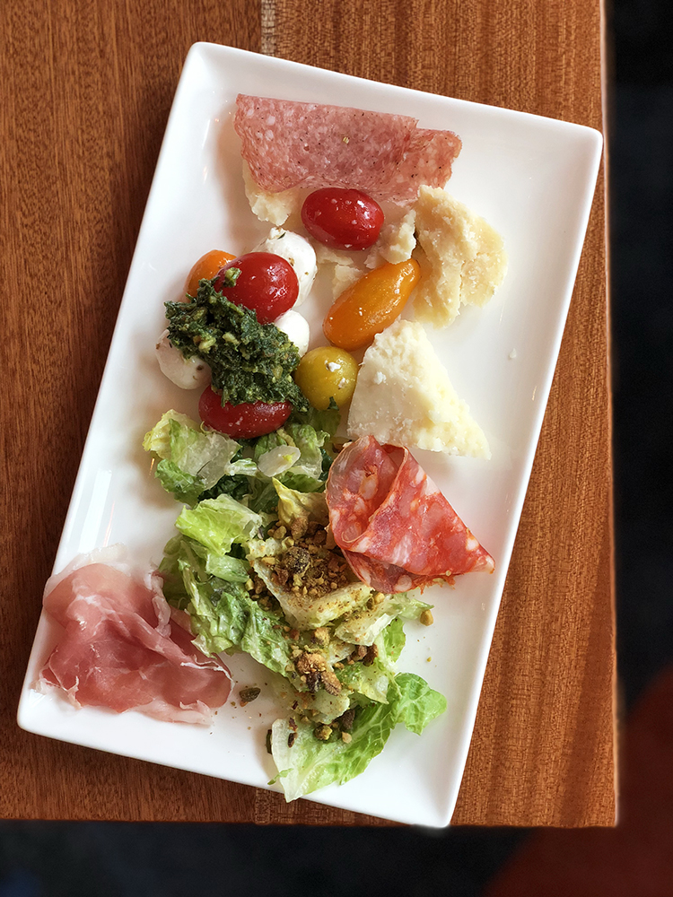 Antipasti at Maria and Enzos for Brunch