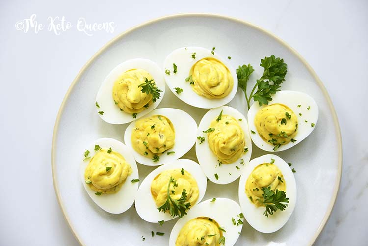 Instant Pot Deviled Eggs with Relish