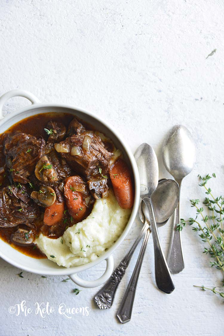 Low Carb Instant Pot Beef Stew The Keto Queens