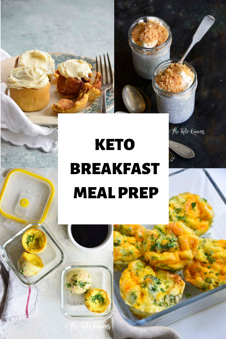 You're a busy person...we understand! That's why we put together this post on the ultimate keto breakfast meal prep to help you! #keto #lowcarb #ketobreakfast #mealprep #ketomealprep