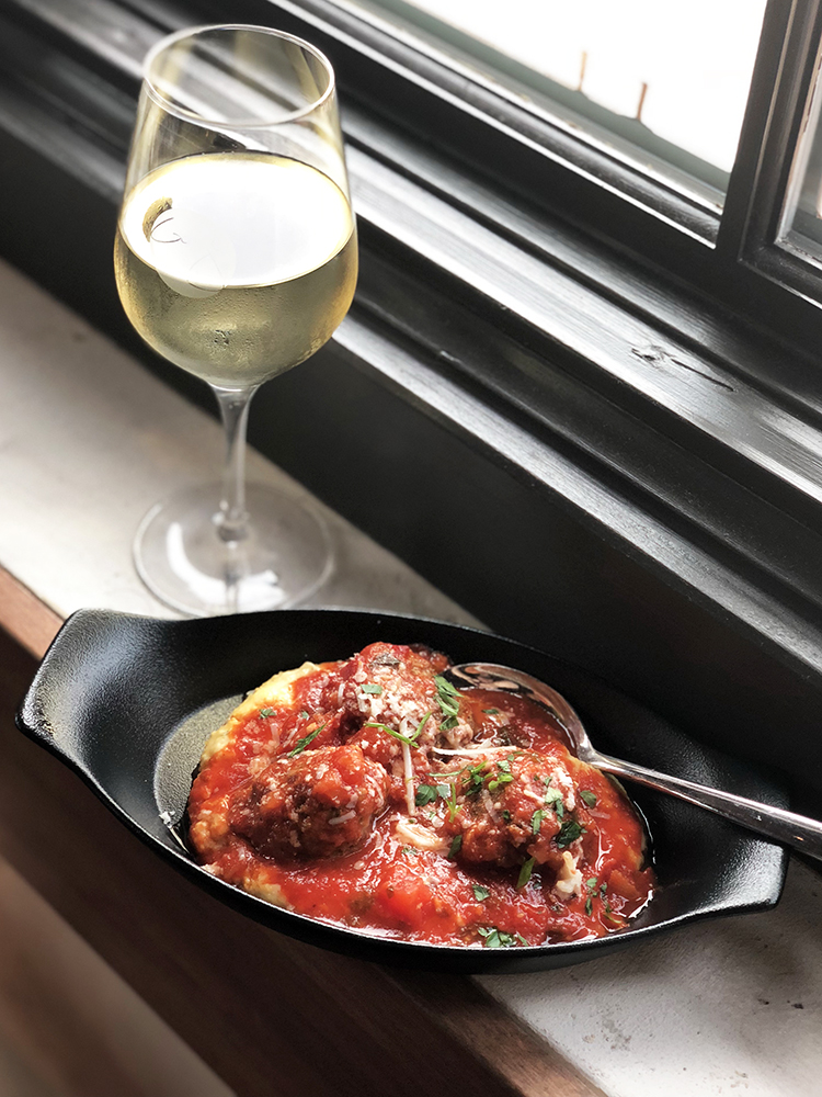 Meatballs at Wine Bar George Disney Springs