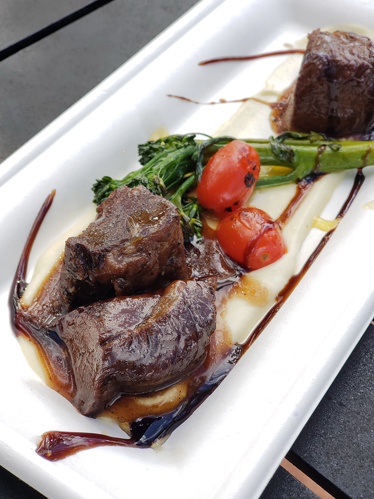 Short Ribs at Festival of the Arts Epcot