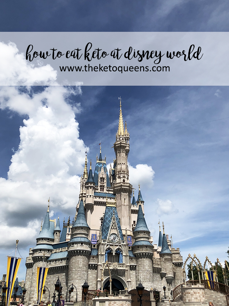 how to eat keto at disney world with magic kingdom castle