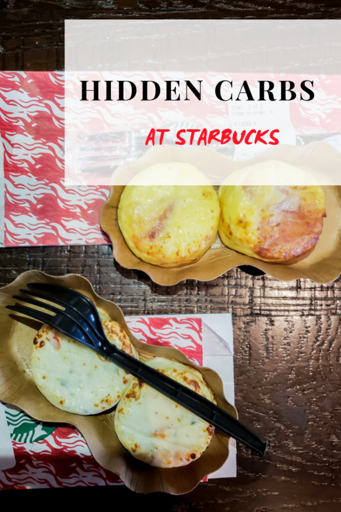 hidden carbs at starbucks pinterest image