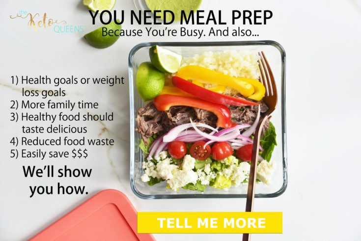 keto meal prep course