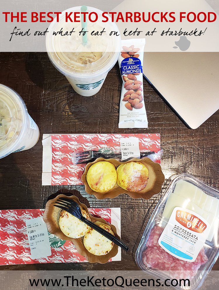 Today we're sharing the Best Keto Starbucks Food to order! We're navigating hot foods, the cold case and pre-packaged foods. And we're sharing our typical Starbucks orders! #keto #lowcarb #lchf