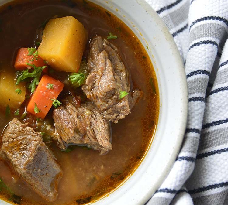 The Best Keto Beef Stew Crockpot Recipe